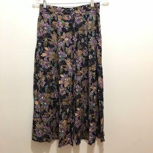 3/$15 Sag Harbor Long Floral Skirt